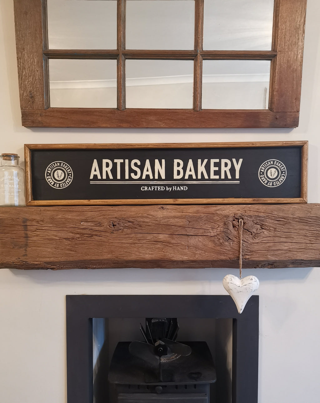 Rustic Artisan Bakery Sign - The Burrow Interiors