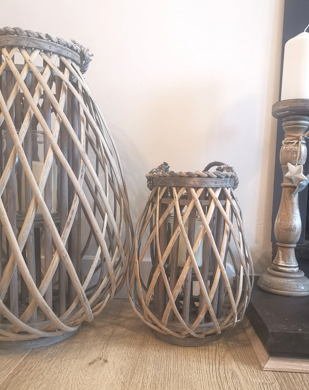 Small Wicker Lantern - TBI