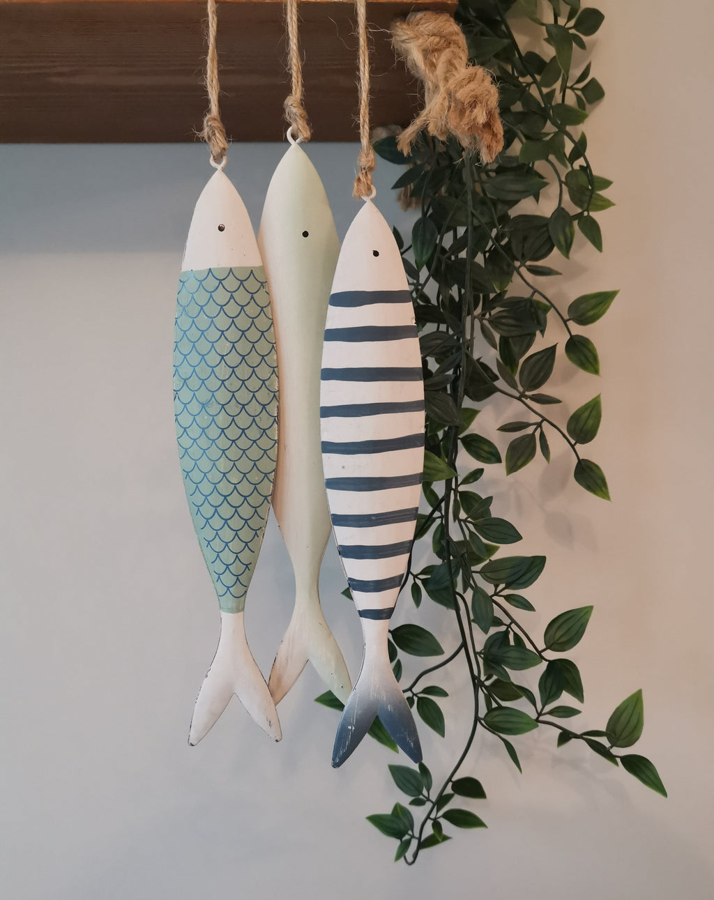 Hanging Metal Fish - The Burrow Interiors