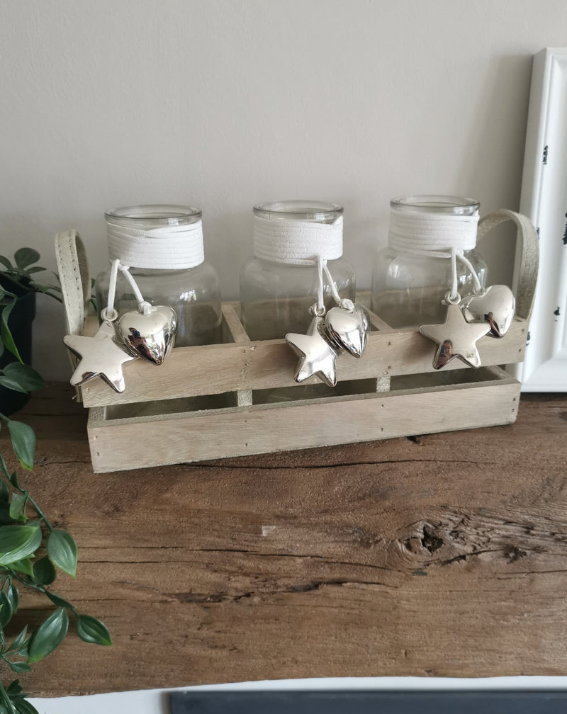 3 Pretty Storage Jars - The Burrow Interiors