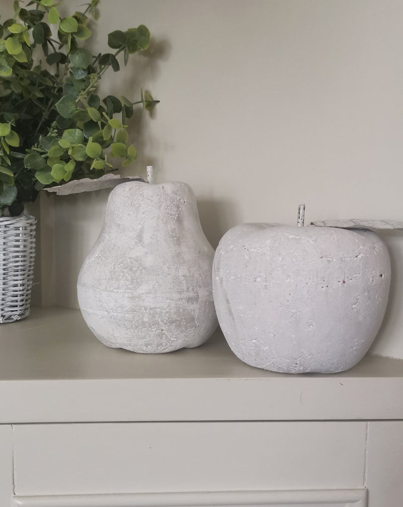Large Stone Candle Holder