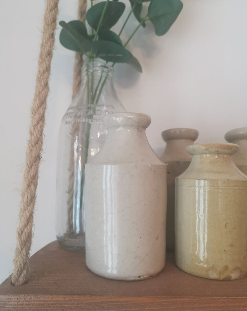 Farmhouse Stoneware Bottles