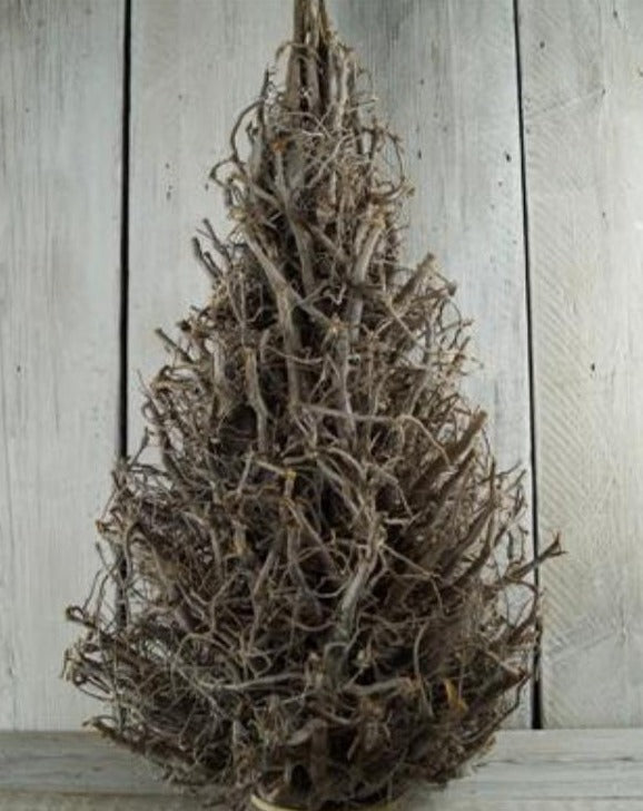 Frosted Twig Root Christmas Tree | TBI