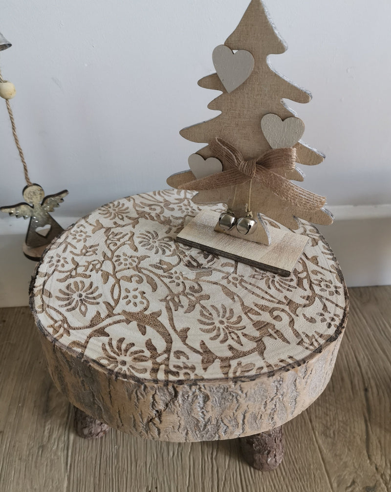 Small Rustic Toad Stool - TBI