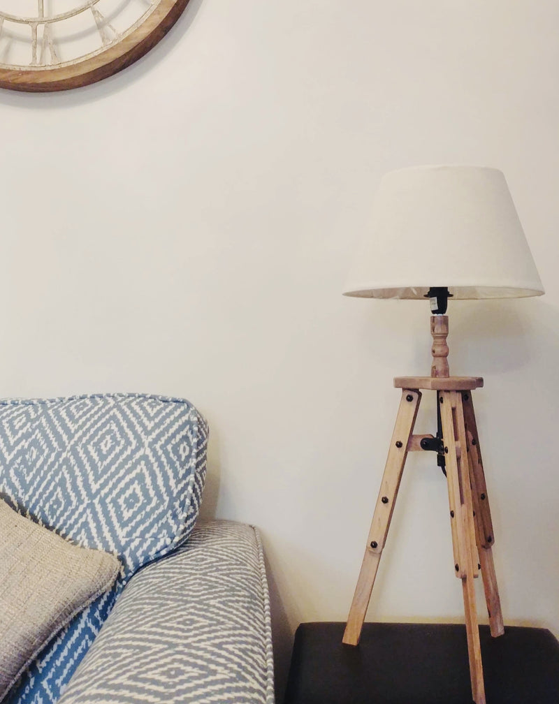 Small White Table Lamp