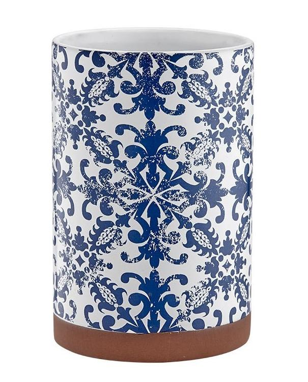 Blue Print Spanish Utensil Holder | TBI