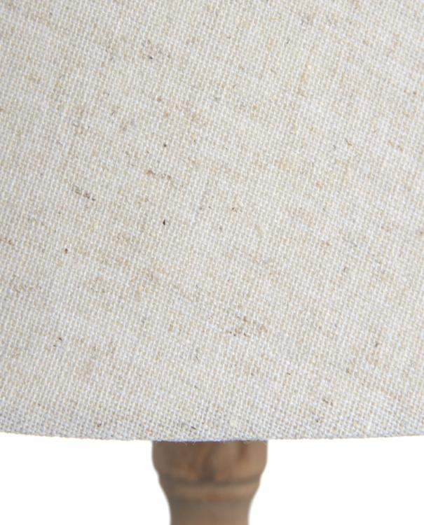 Beige Lampshade Table Tripod Lamp | TBI