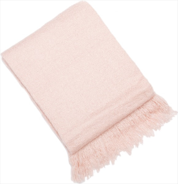 Baby Pink Throw
