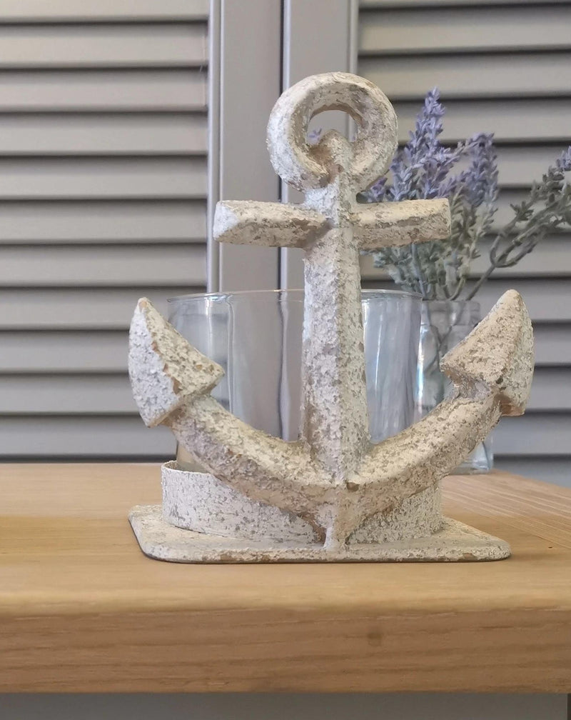 Aged Anchor Tea Light - TBI