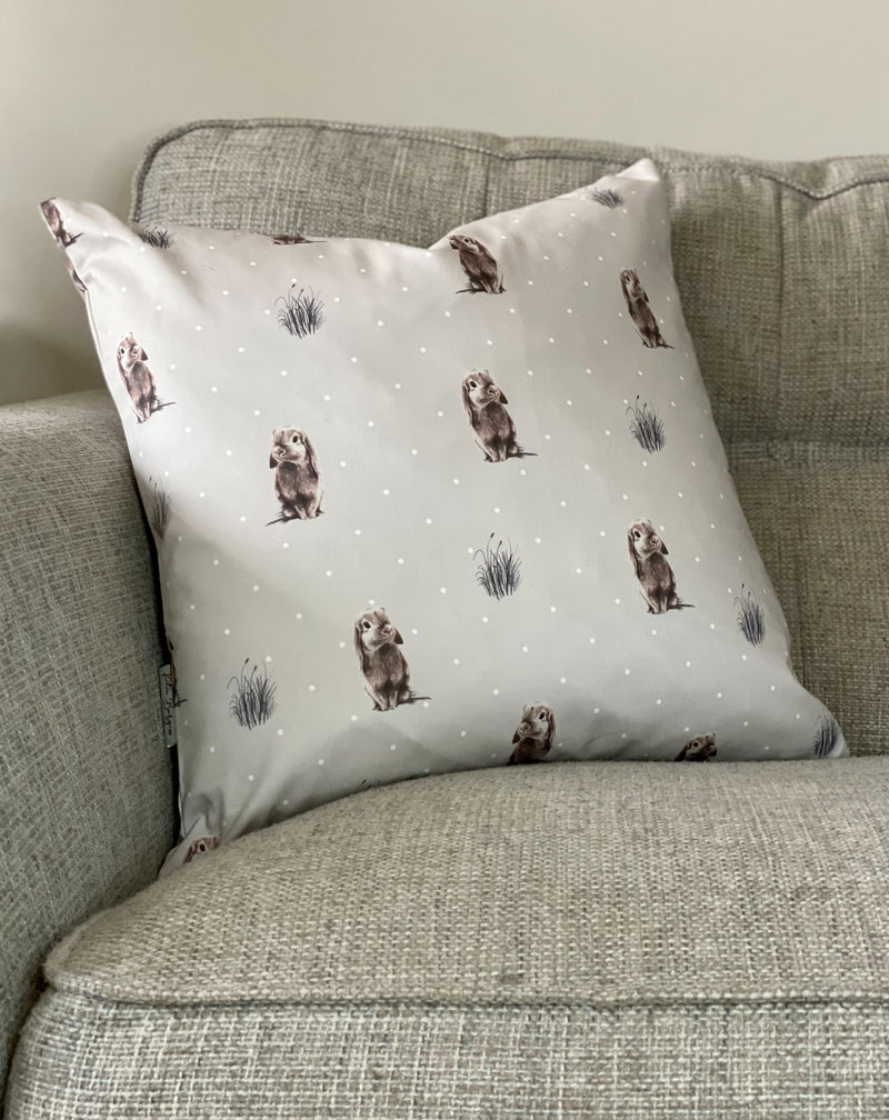 Grey Rabbit Cushion - TBI