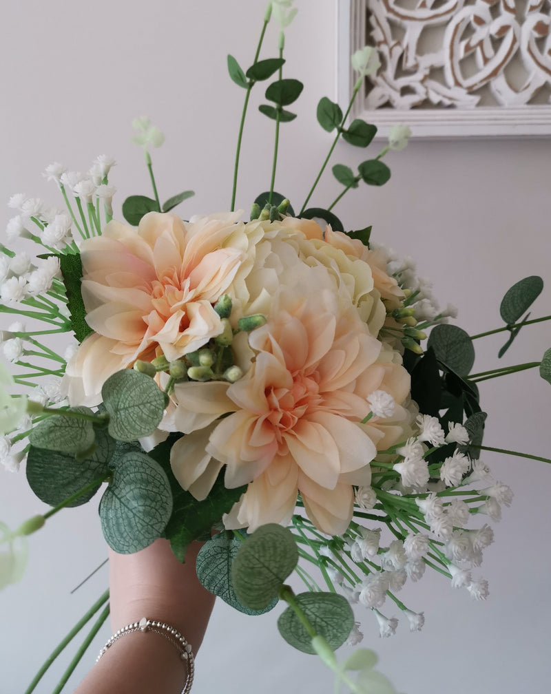 Bouquet with Gypsophilia Spray Filler - TBI