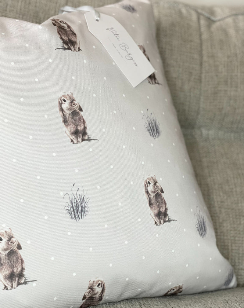 Katie Burgess Rabbit Cushion - TBI