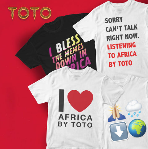 I Bless The Memes Down In Africa Limited Edition Tshirts