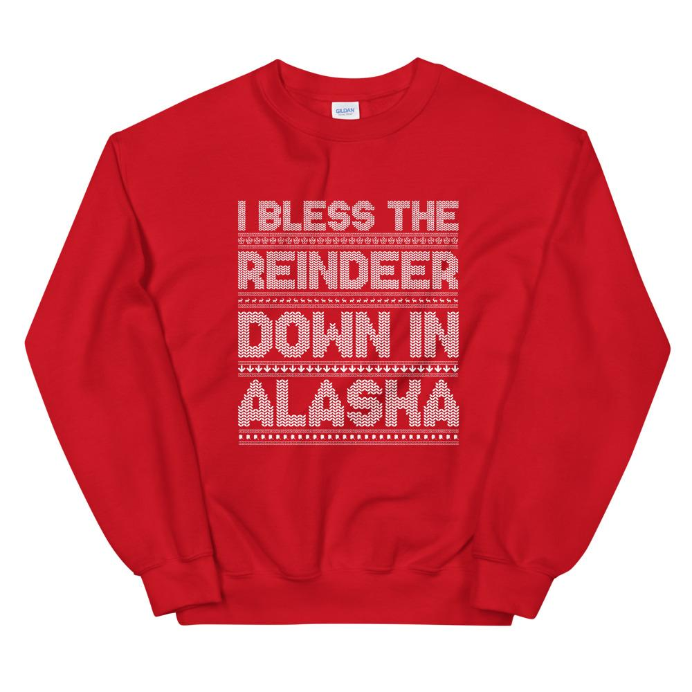 Jumpers & Sweatshirts - I Bless The Reindeer