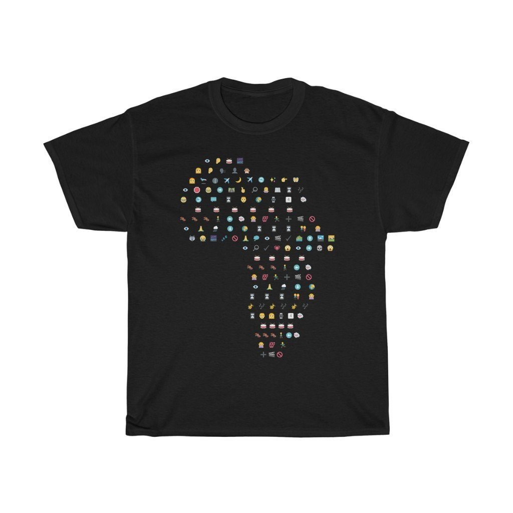 T-Shirt - Africa Toto Emoji Lyrics