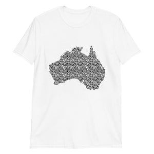 T-Shirt - Land Down Under QR Code T-Shirt
