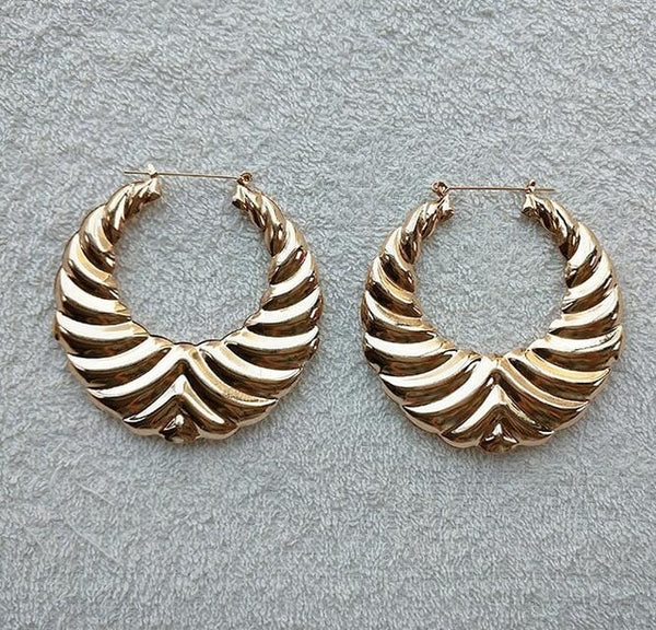 Club It Up Bamboo Earrings