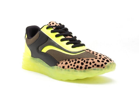 Neon Jungle Sneakers