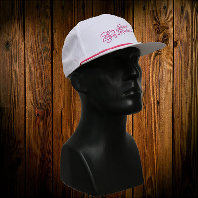 White Spring Break Hat