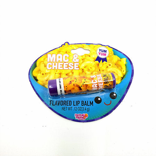 Mac and Cheese Lip Balm
