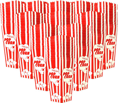 "110 Popcorn Boxes, 7.75"" Inches Tall and Holds 46 Oz - salbree.com"