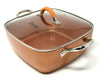 "11"" Replacement Lid for Copper Chef Copper Fry Pan by Salbree - salbree.com"