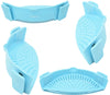 Salbree Clip-on Kitchen Food Strainer - Baby Blue - salbree.com