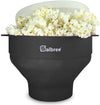 Salbree Microwave Popcorn Popper - Black