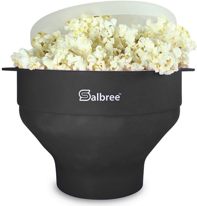 Salbree Microwave Popcorn Popper - Black - salbree.com