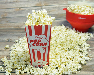 "30 Popcorn Boxes, 7.75"" Inches Tall and Holds 46 Oz - salbree.com"