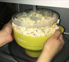 Salbree Microwave Popcorn Popper - Lime - salbree.com