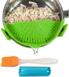 Salbree Clip-on Kitchen Food Strainer - Green
