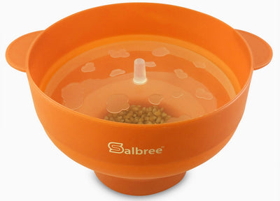 Salbree Microwave Popcorn Popper - Orange - salbree.com
