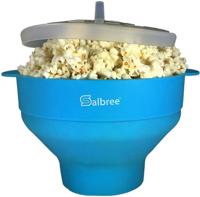Salbree Microwave Popcorn Popper - Turquoise - salbree.com