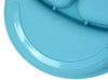Salbree Divided Toddler Plates Set - Green, Light blue, Aqua, Yellow - salbree.com