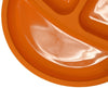 Salbree Divided Toddler Plates Set - Green, Light Blue, Orange, Purple - salbree.com