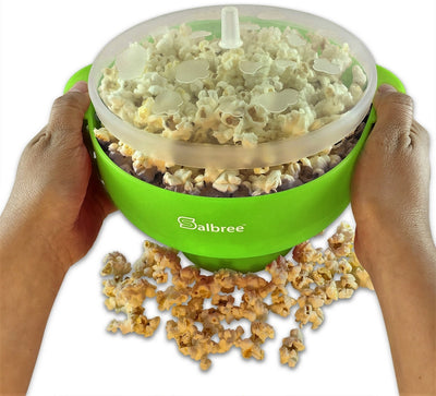 Salbree Microwave Popcorn Popper - Green