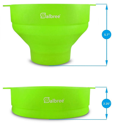 Salbree Microwave Popcorn Popper - Green - salbree.com