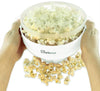 Salbree Microwave Popcorn Popper - White - salbree.com
