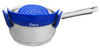 Salbree Clip-on Kitchen Food Strainer - Dark Blue - salbree.com
