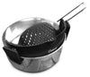Salbree Clip-on Kitchen Food Strainer - Black - salbree.com