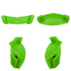 Salbree Clip-on Kitchen Food Strainer - Green - salbree.com