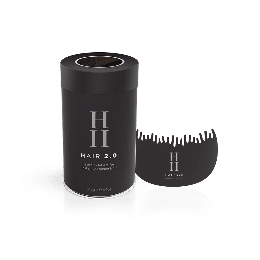 Hair 2.0 - Hair Building Fibers + Hairline Optimizer Set