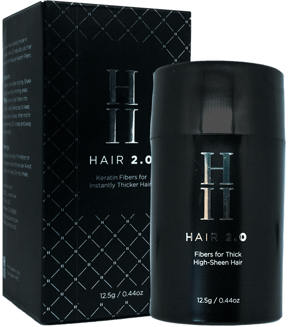 Hair 2.0 - Hair Building Fibers + Spray Applicator Set
