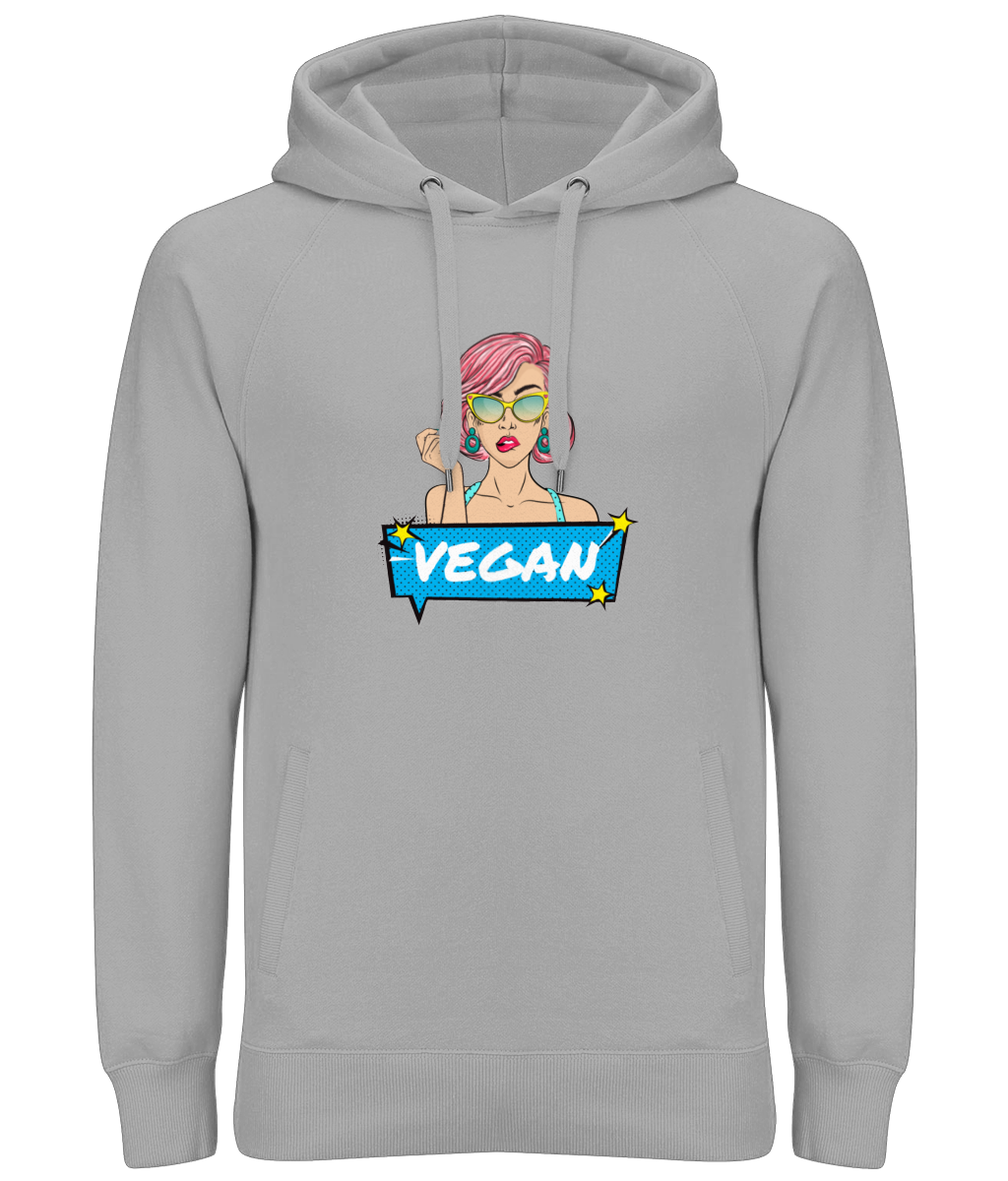 Pop Art Vegan // Unisex Hoody