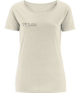 Vegan // Damen T-Shirt