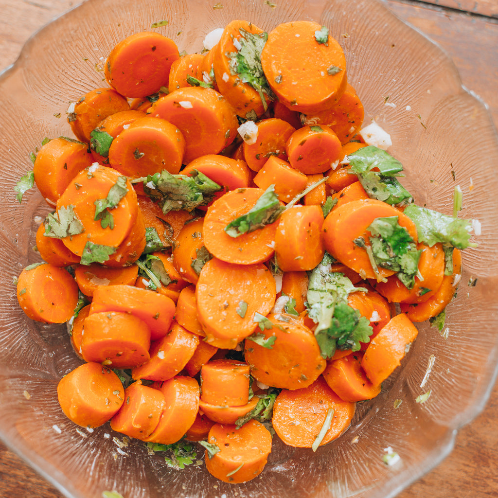 Moroccan carrot salad with argan oil, naturally gluten free, dairy free and vegan