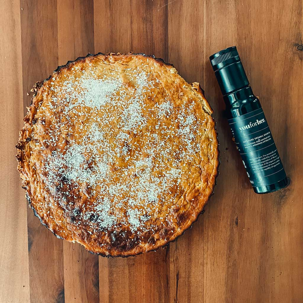 Healthy Pumpkin Pie with Argan Oil