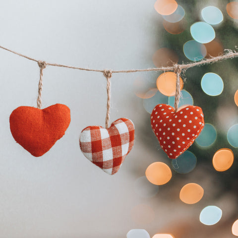 youforher Christmas decoration heart
