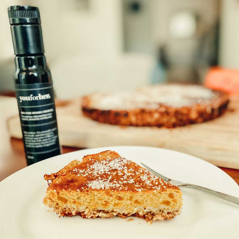 youforher pumpkin pie with argan oil